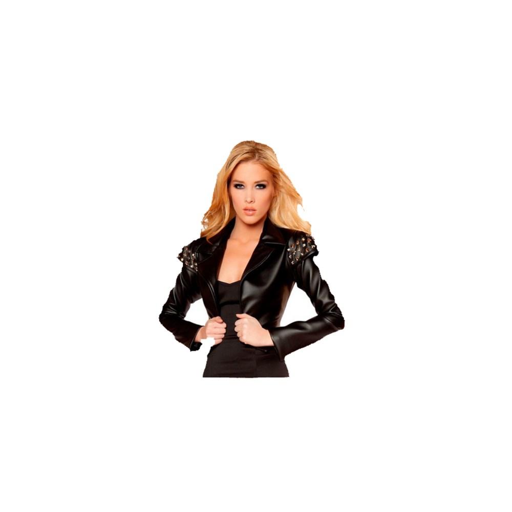 ジャケット 大人女性用 Black 黒 ブラック 衣装、コスチューム 大人女性用 コスプレ コスプレ Black Jacket, くもくもスクエア:8f0a245d --- officewill.xsrv.jp