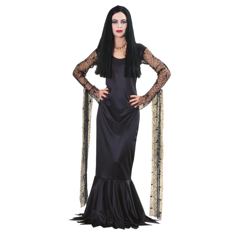 モーティシア アダムスファミリー 衣装、コスチューム 大人女性用