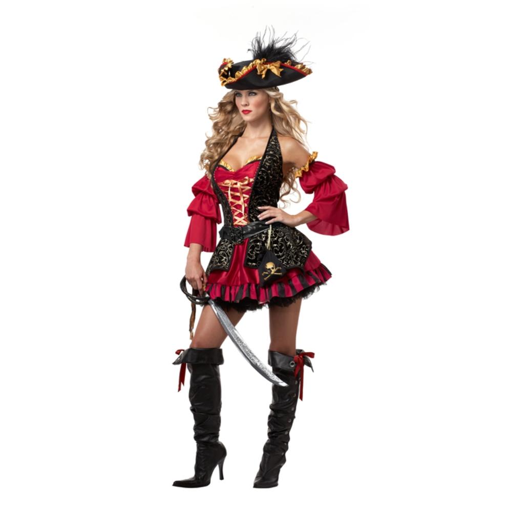 海賊 セクシー 衣装、コスチューム 大人女性用 spanish pirate