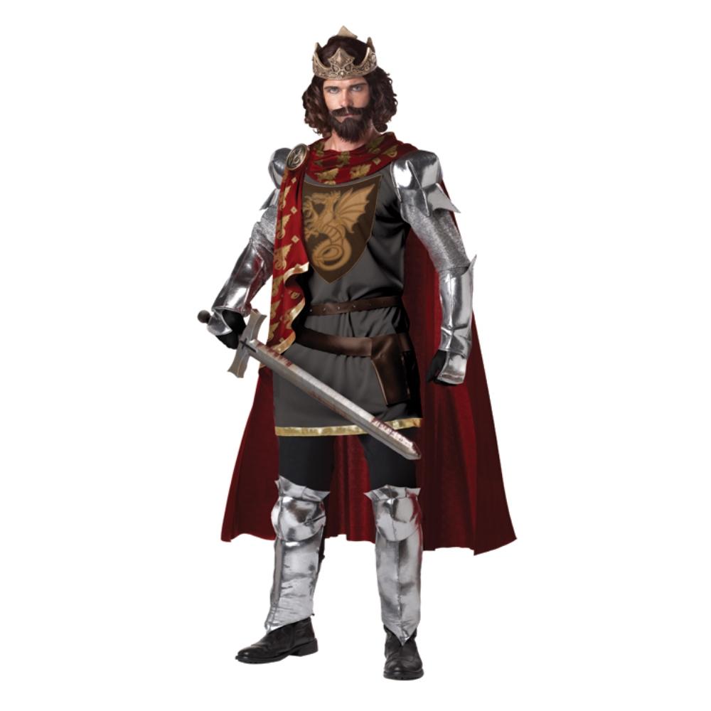 キング・アーサー 衣装、コスチューム 大人男性用 騎士、ナイト