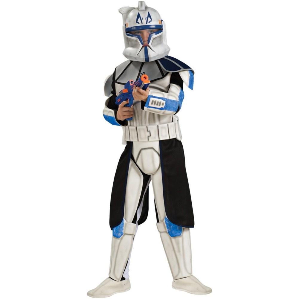 クローン・トルーパー キャプテン・レックス 衣装、コスチューム デラックス 子供男性用