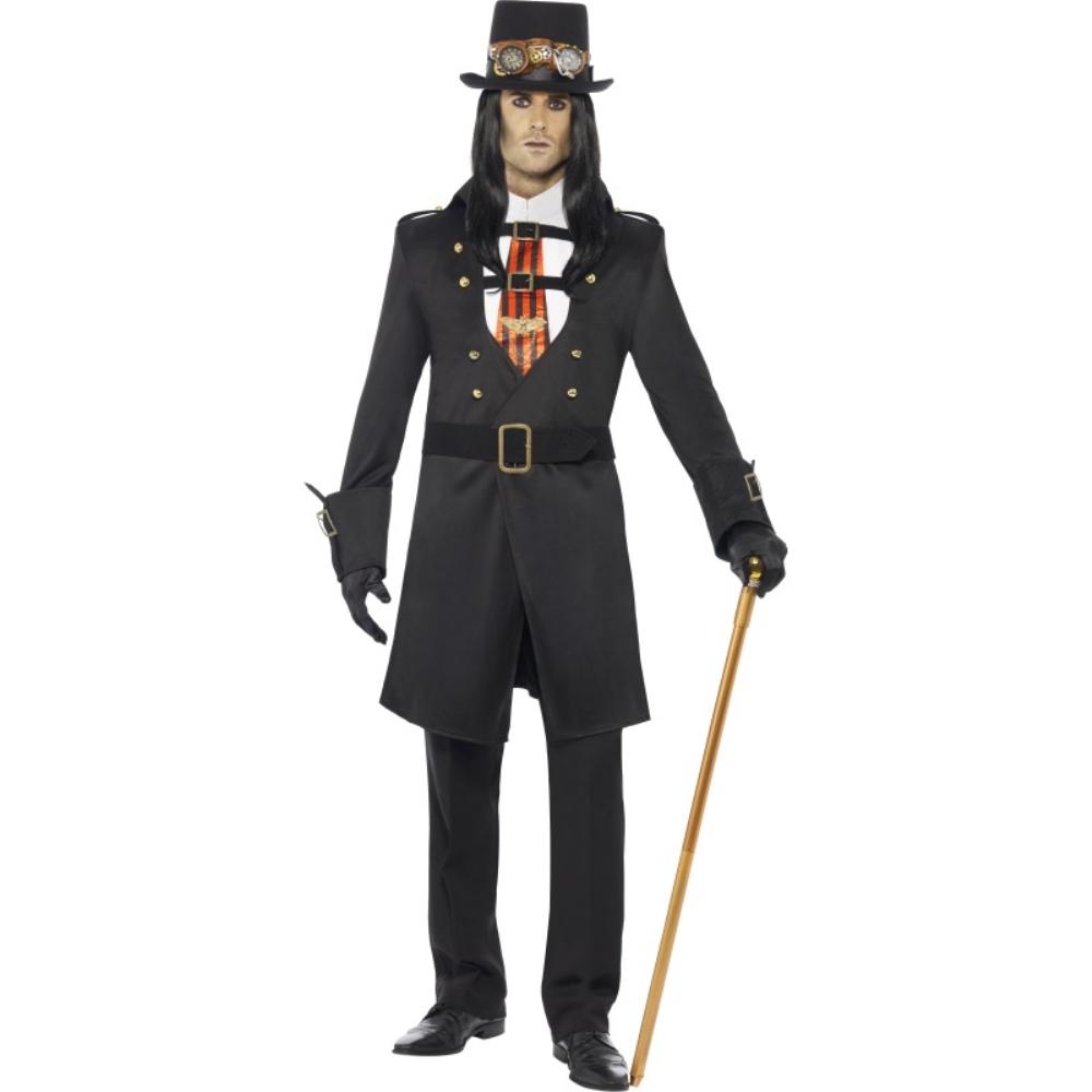 スチームパンク ヴァンパイア 衣装 コスチューム 大人男性用