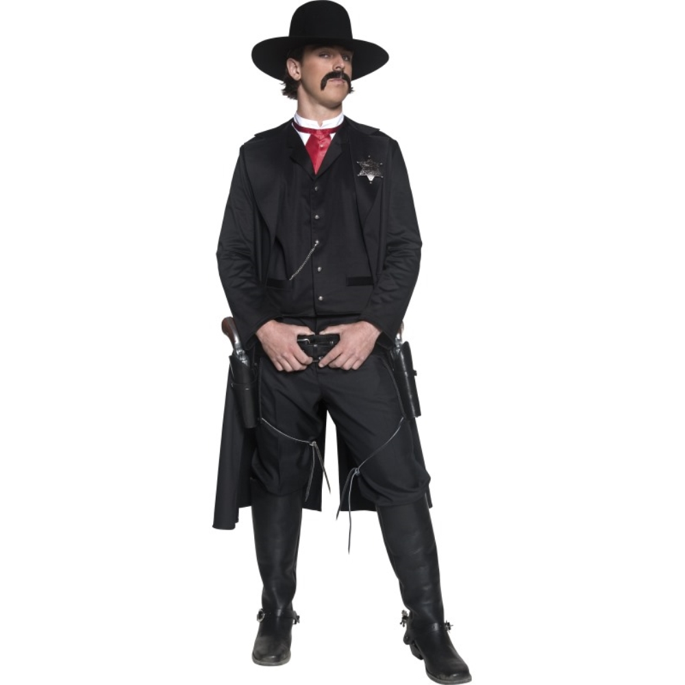 西部開拓時代の保安官 衣装 コスチューム 大人男性用 西部劇風