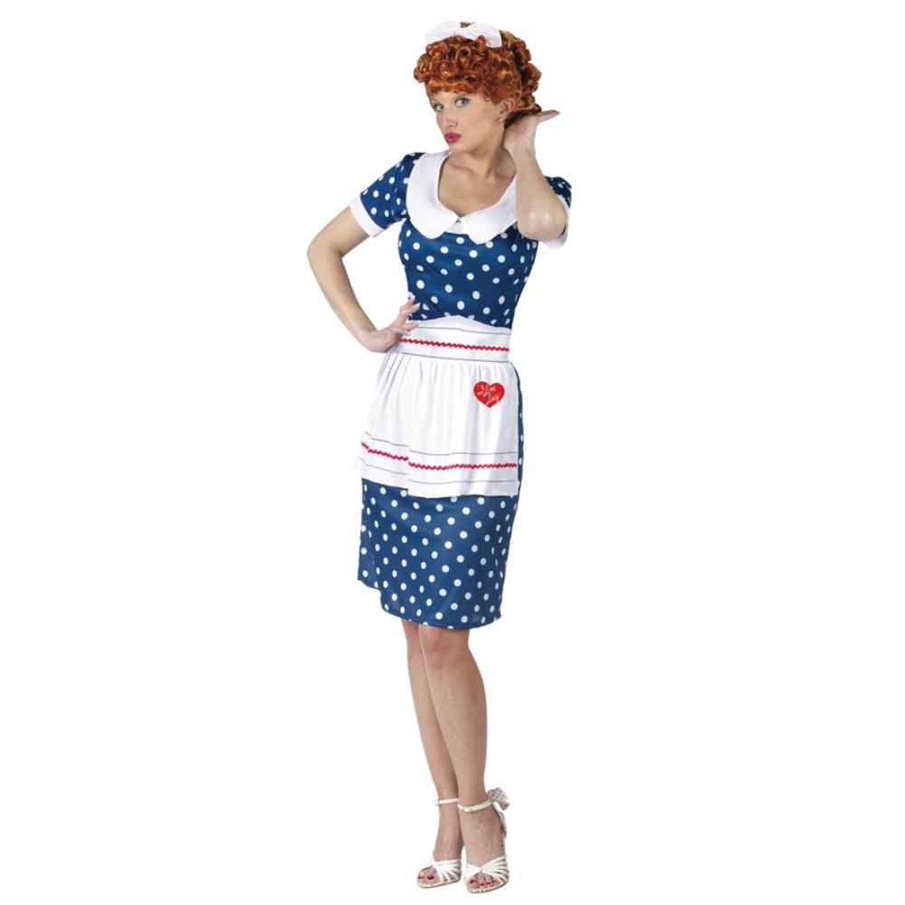 アイ・ラブ・ルーシー 衣装、コスチューム 大人女性用 コスプレ