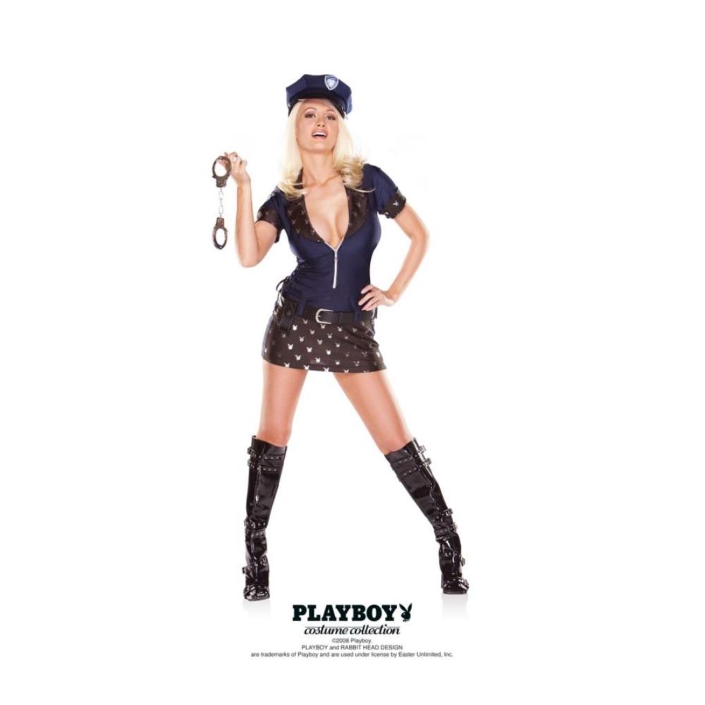 プレイボーイ・ポリス 衣装、コスチューム 大人女性用 セクシー