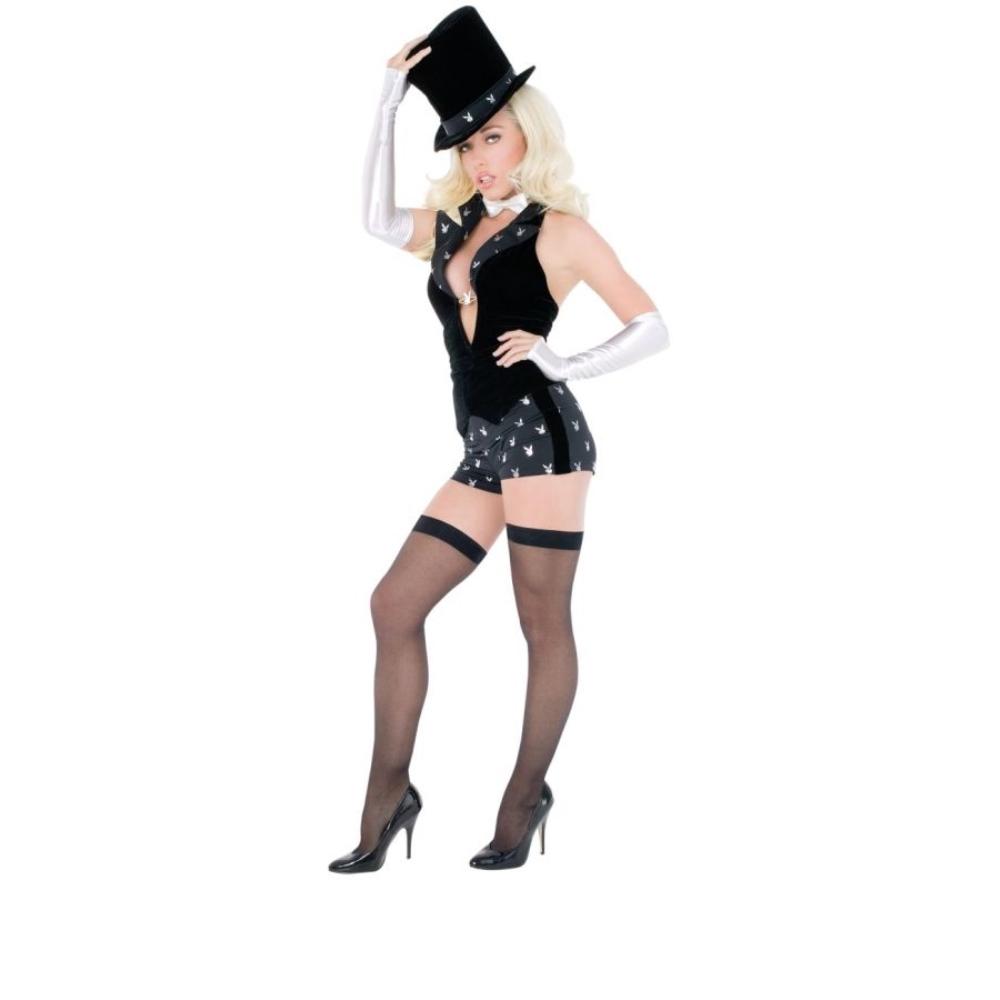 プレイボーイ・マジシャン 衣装、コスチューム 大人女性用 セクシー