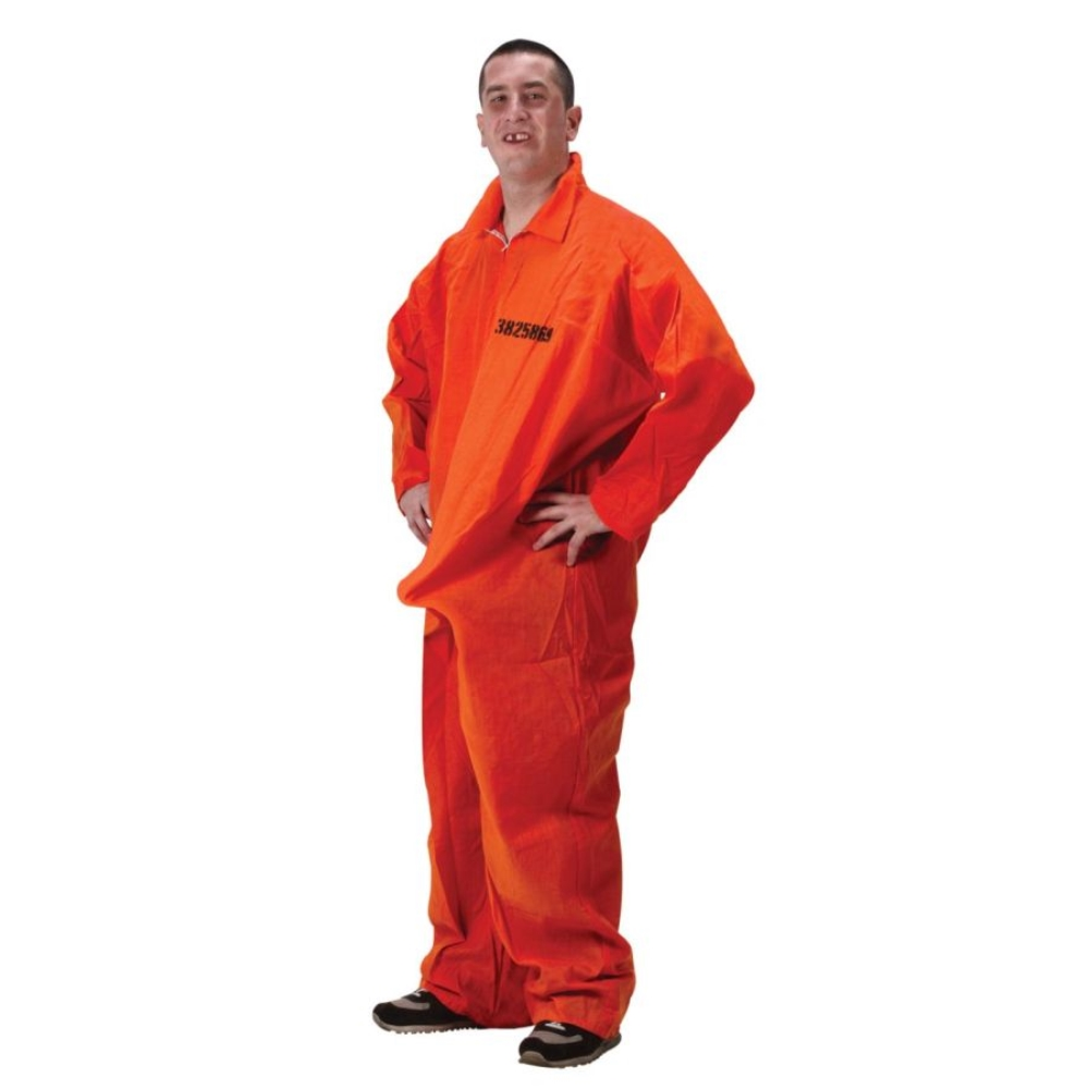 475d47eb3c64 It Is A Prison Convict Costume Set. To Remember The Joke For A Party. The  Jumpsuit   Shoes Not Included. Sc 1 St Rakuten