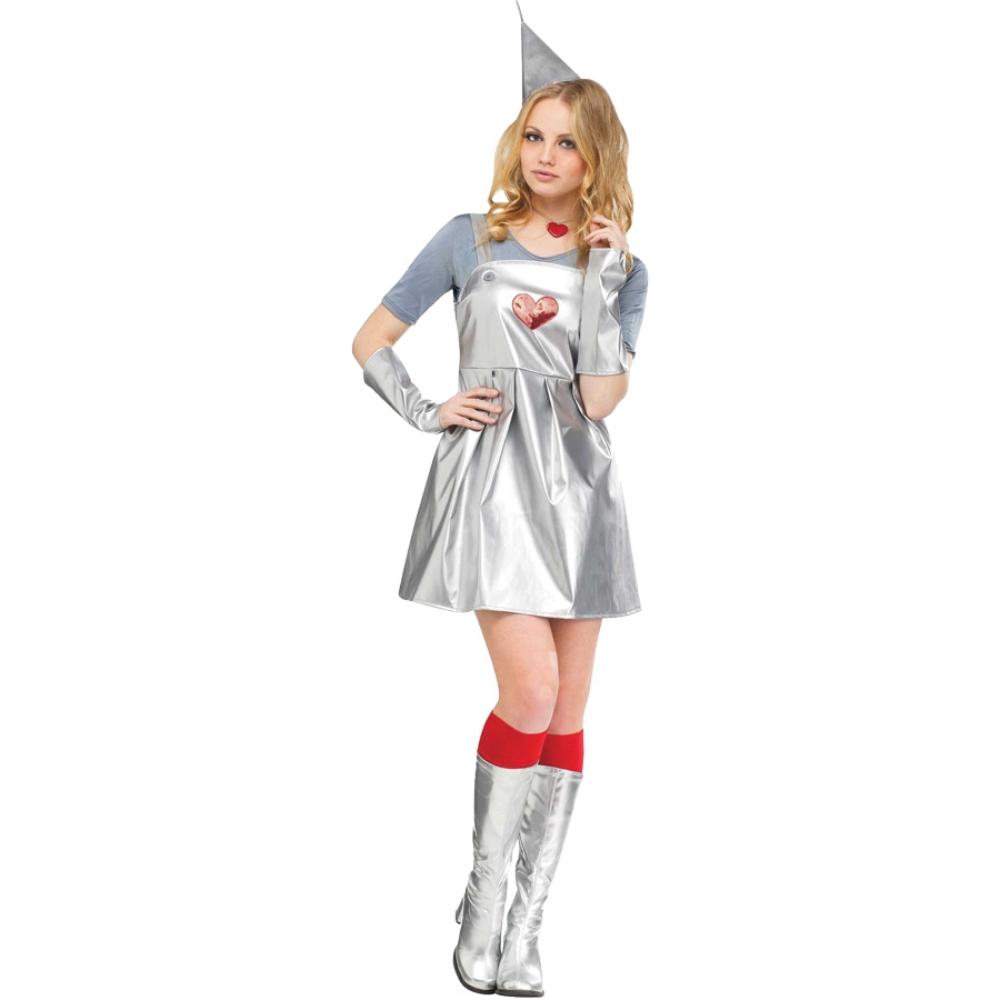 ブリキの木こり 衣装、コスチューム 大人女性用 オズの魔法使い TIN GAL コスプレ:アメリカンコスチューム店