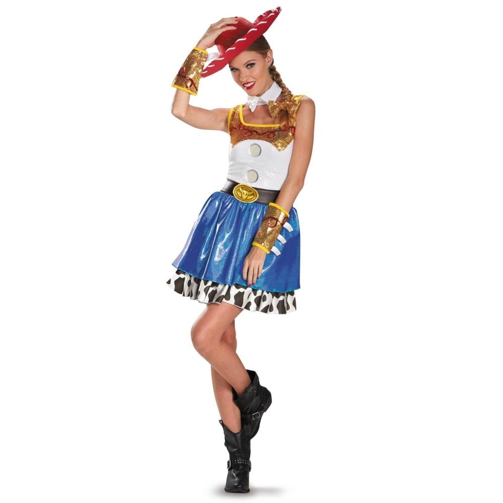 トイストーリー ジェシー 衣装、コスチューム 大人女性用 ディズニー Jessie コスプレ