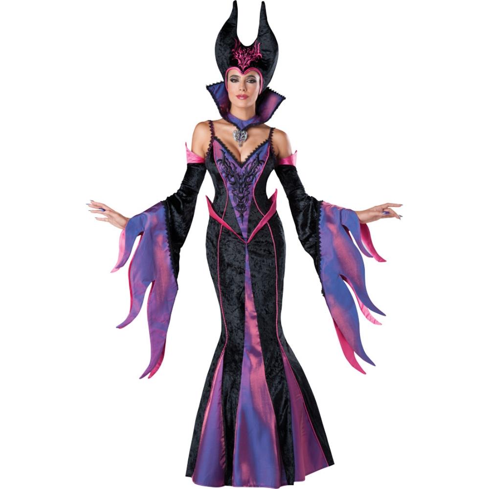 魔女 衣装、コスチューム 大人女性用 マレフィセント風 DARK SORCERESS ADULT
