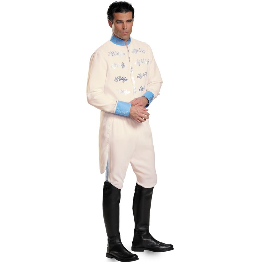シンデレラ 王子様 衣装、コスチューム 大人男性用 ディズニー プリンス