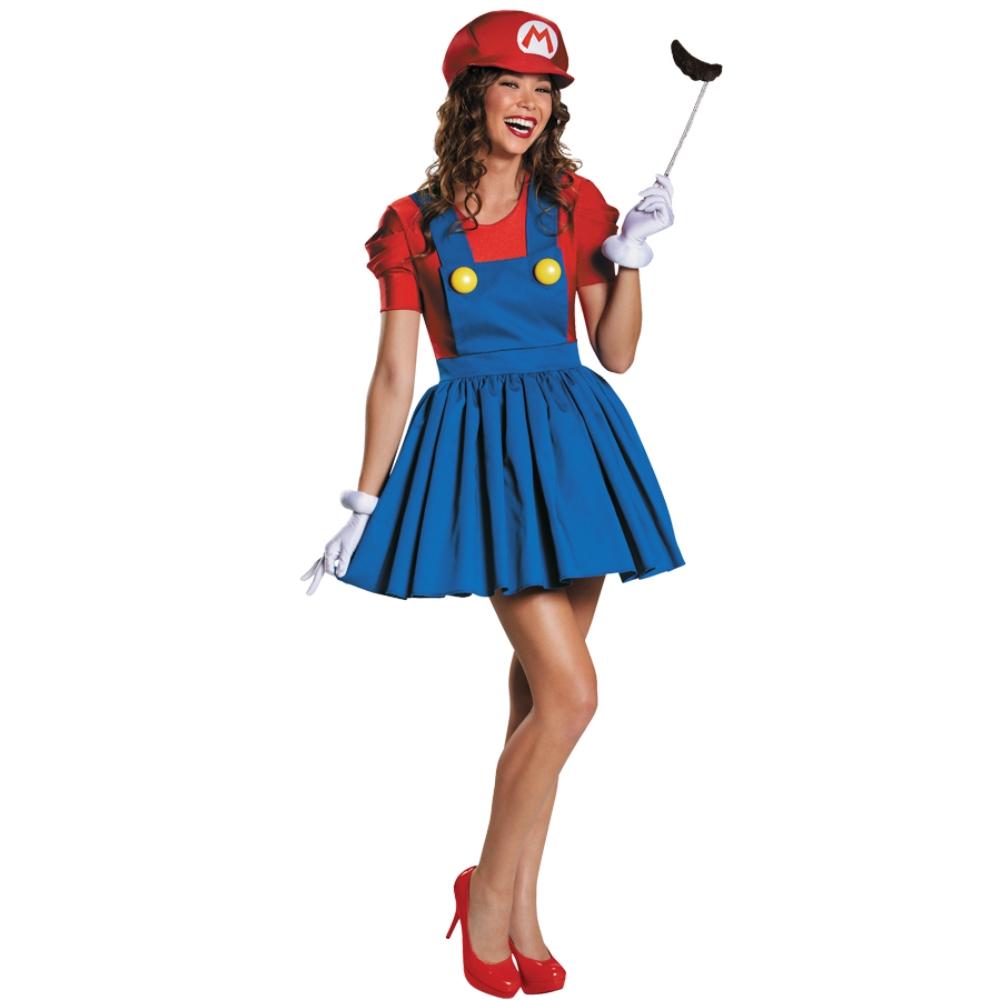 マリオ 衣装、コスチューム 大人女性用 スーパーマリオ MARIO SKIRT