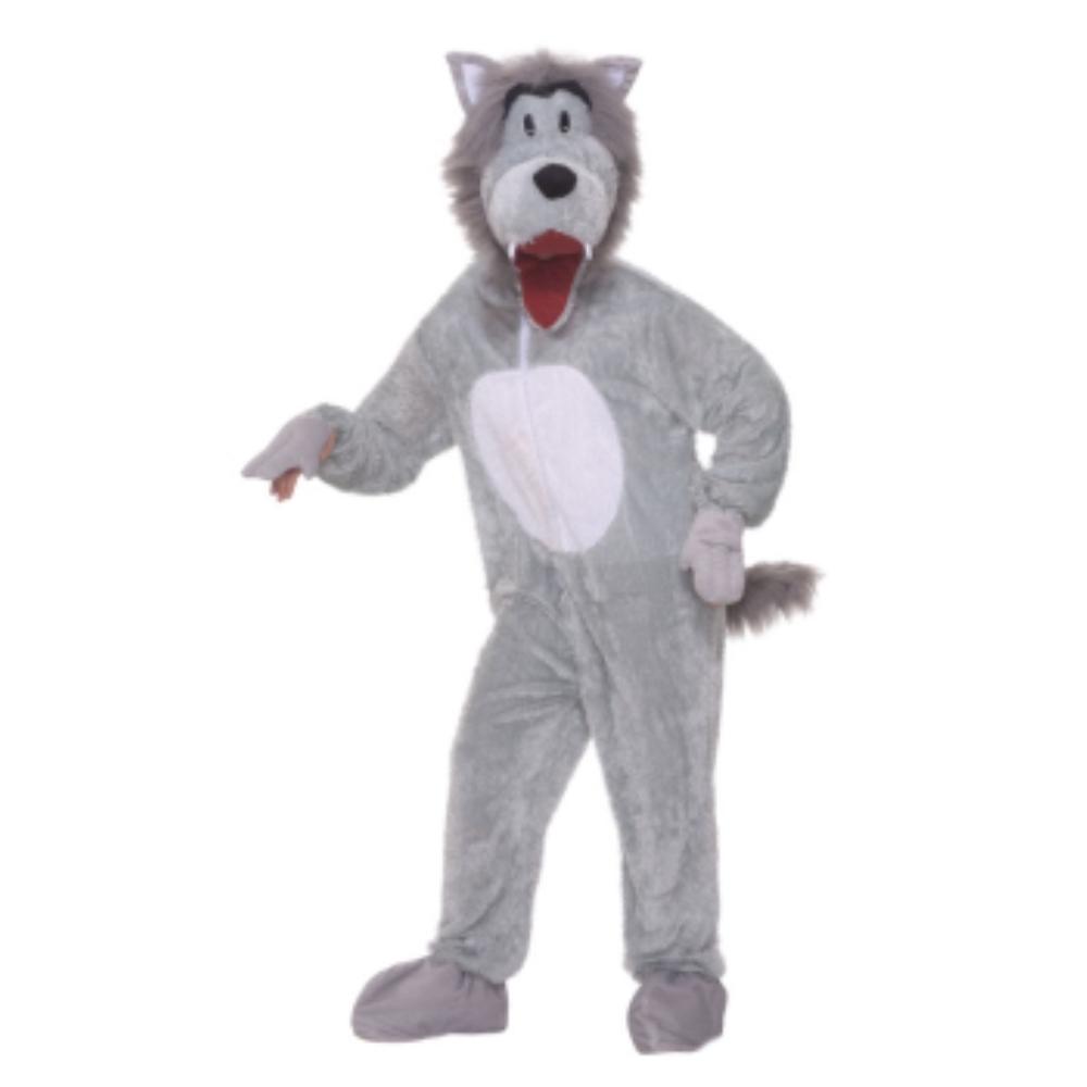 オオカミ 着ぐるみ 衣装、コスチューム 大人男性用 STORY BOOK WOLF PLUSH COSTUME