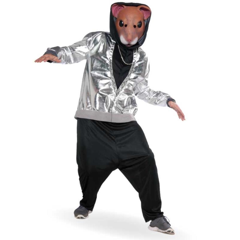 ハムスター 衣装、コスチューム 大人男性用 動物 ダンサー HIP HOP HAMSTA