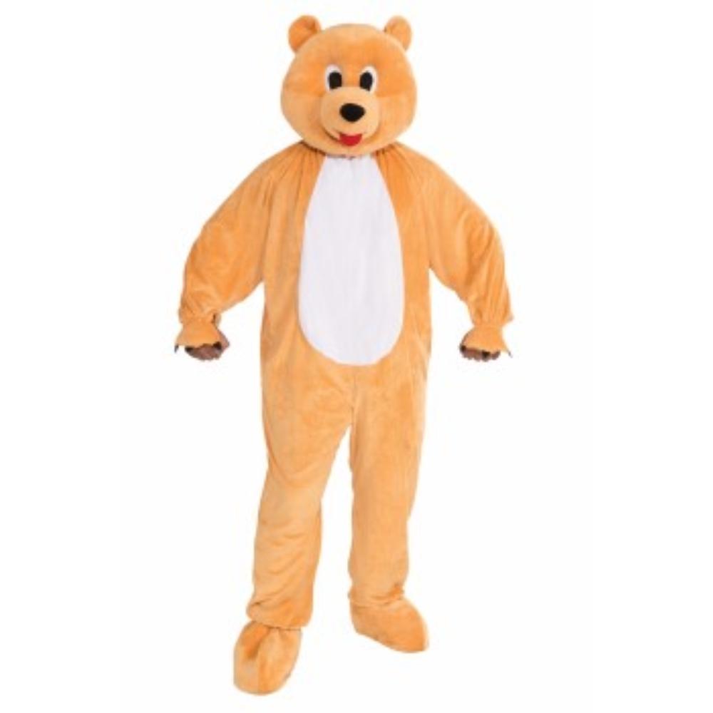 クマ 気ぐるみ 衣装、コスチューム 大人男性用 PROMO-MASCOT-HONEY BEAR
