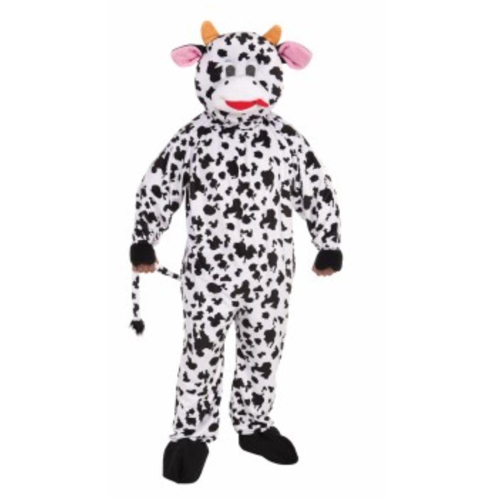 ウシ 着ぐるみ 衣装、コスチューム 大人男性用 PROMO-MASCOT-COW