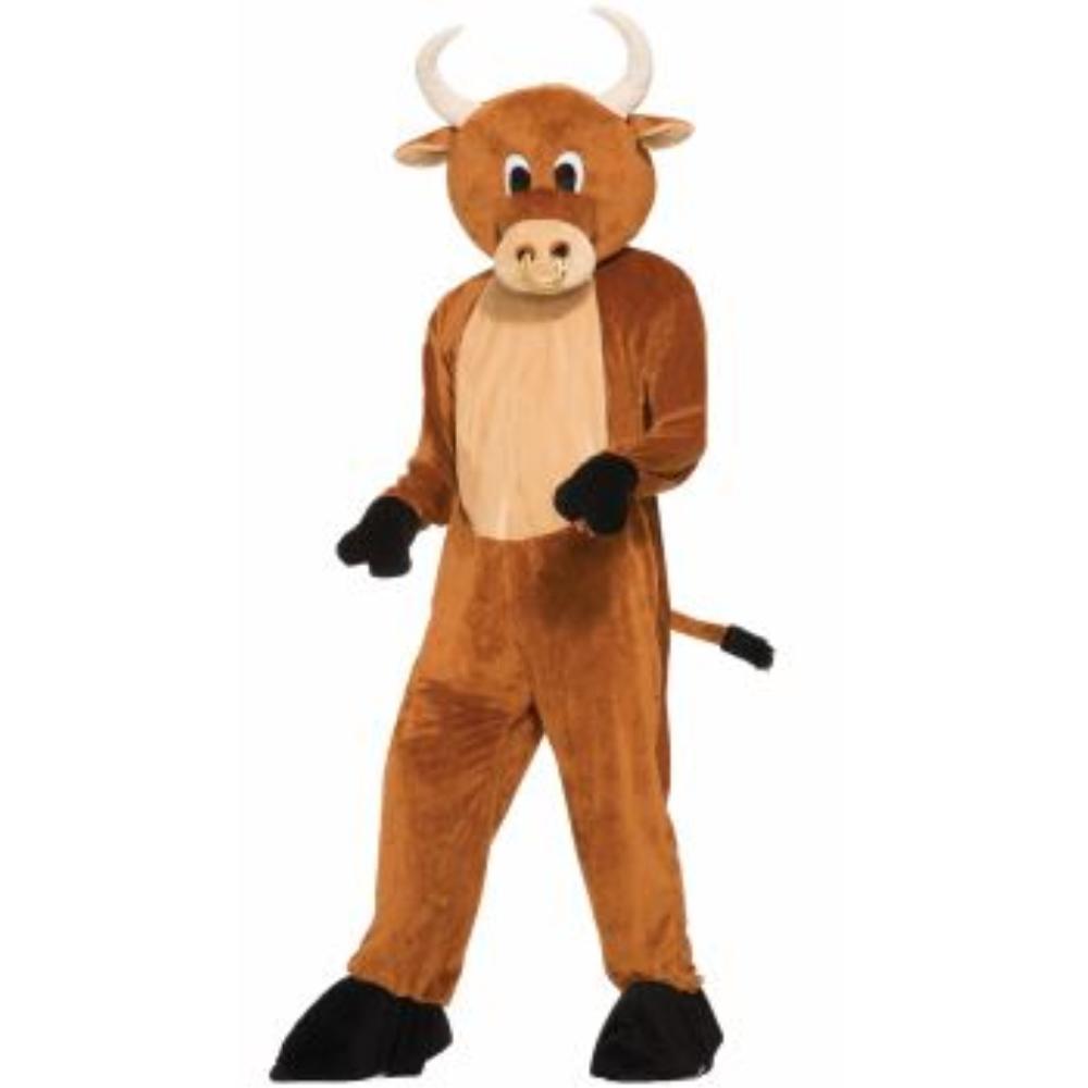 牛 着ぐるみ 衣装、コスチューム 大人男性用 MASCOT-BRUTUS THE BULL