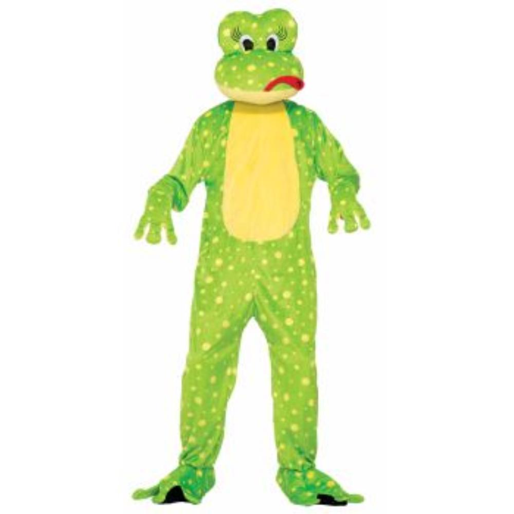 カエル 着ぐるみ 衣装、コスチューム 大人男性用 MASCOT-FREDDY THE FROG