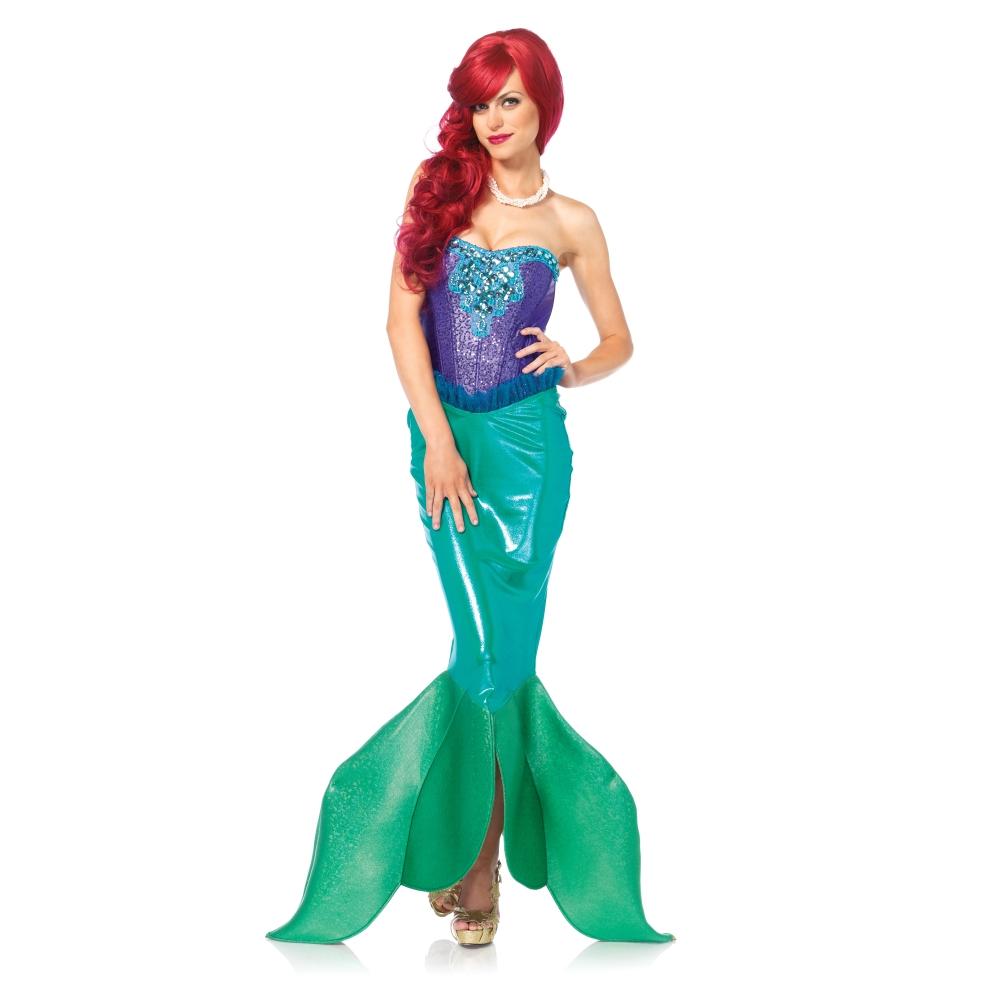 マーメイド 衣装、コスチューム 大人女性用 人魚 2 PC. Deep Sea Siren