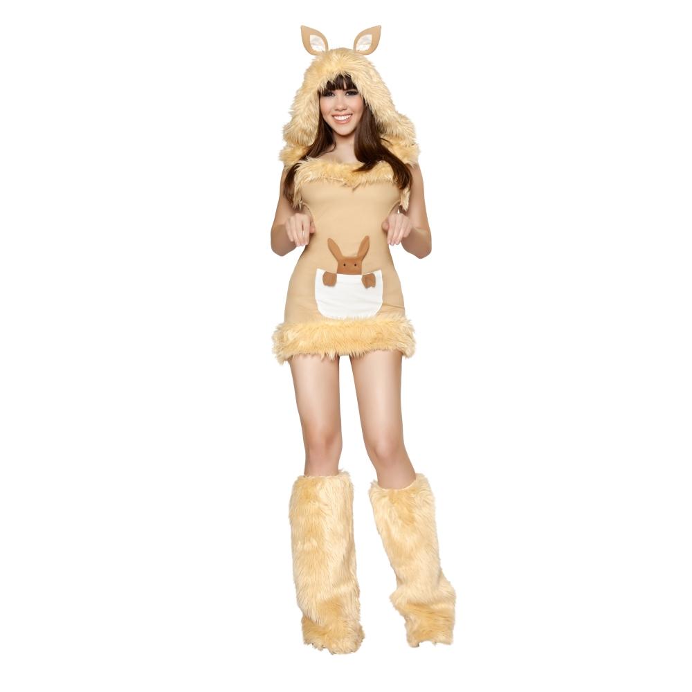 カンガルー 衣装、コスチューム 大人女性用 セクシー 動物 Kangaroo