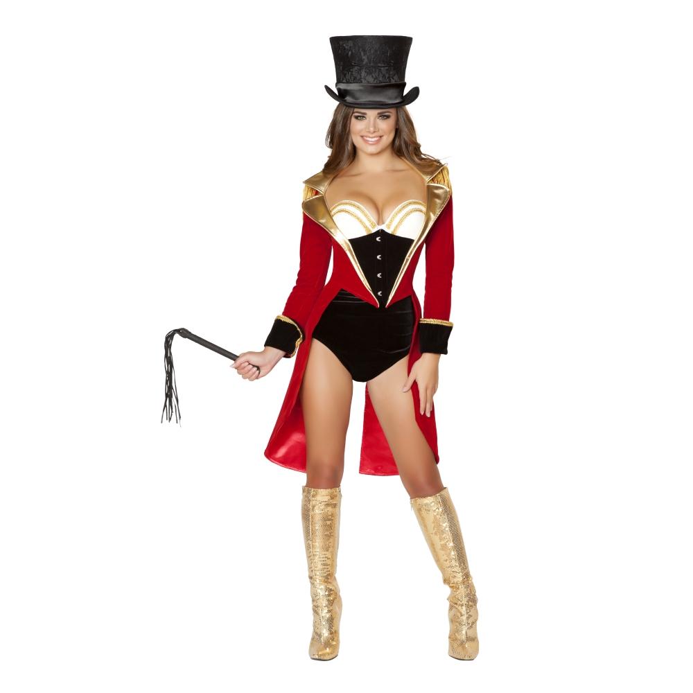 サーカス 衣装、コスチューム 女性大人用  Naughty Ringleader コスプレ