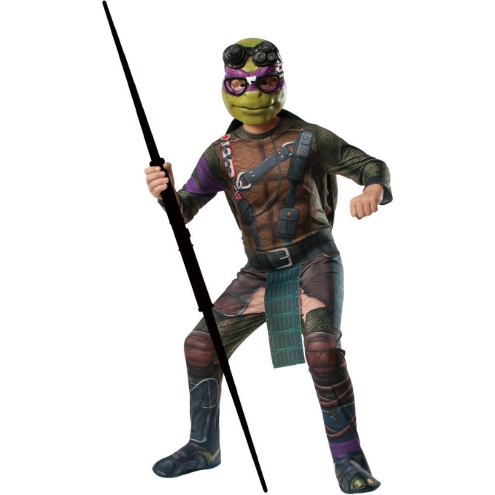 ドナテロ タートルズ 衣装、コスチューム 大人男性用 Ninja Turtles Donatello