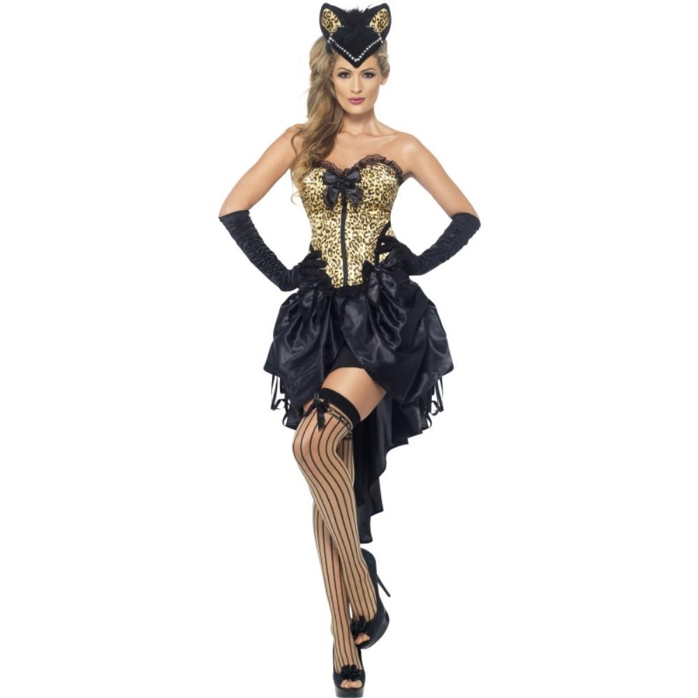 猫 黒 衣装、コスチューム バーレスク 大人女性用 Burlesque Kitty