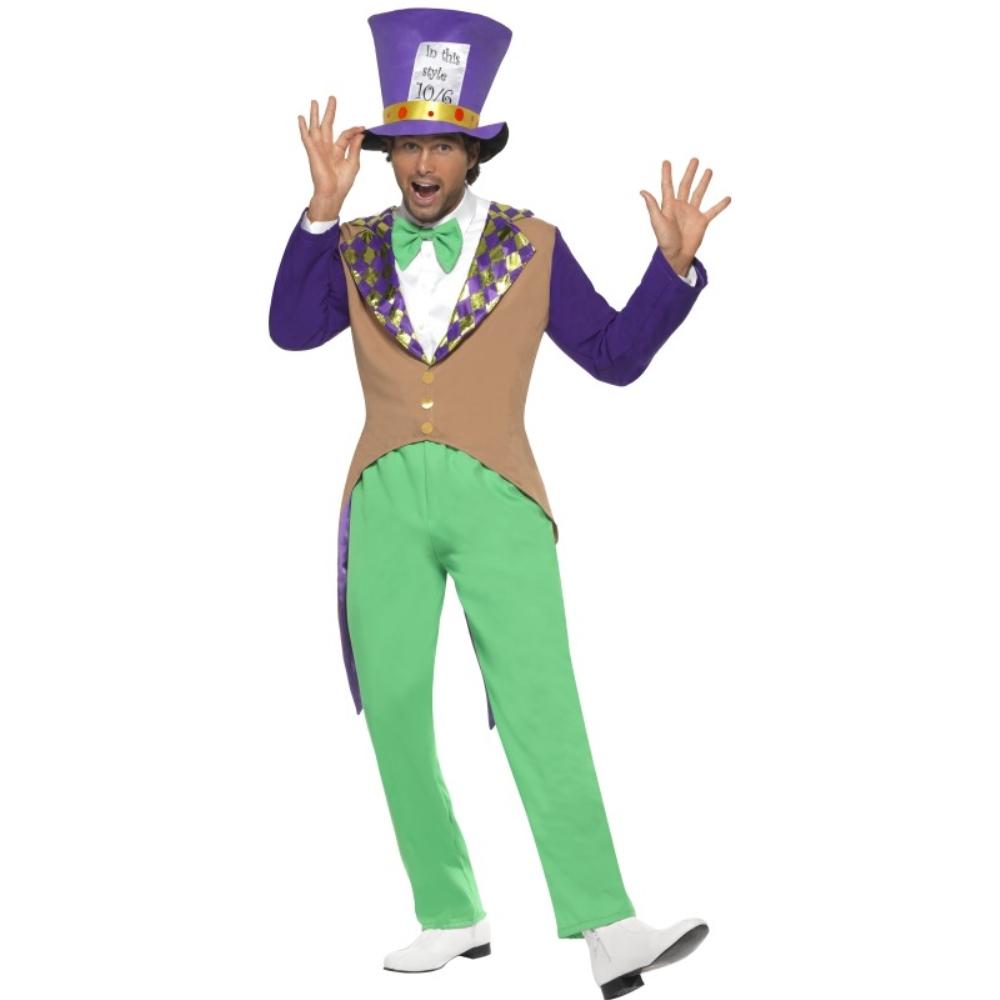 マッドハッター 衣装、コスチューム 童話 ズボン 大人男性用 Mad Hatter