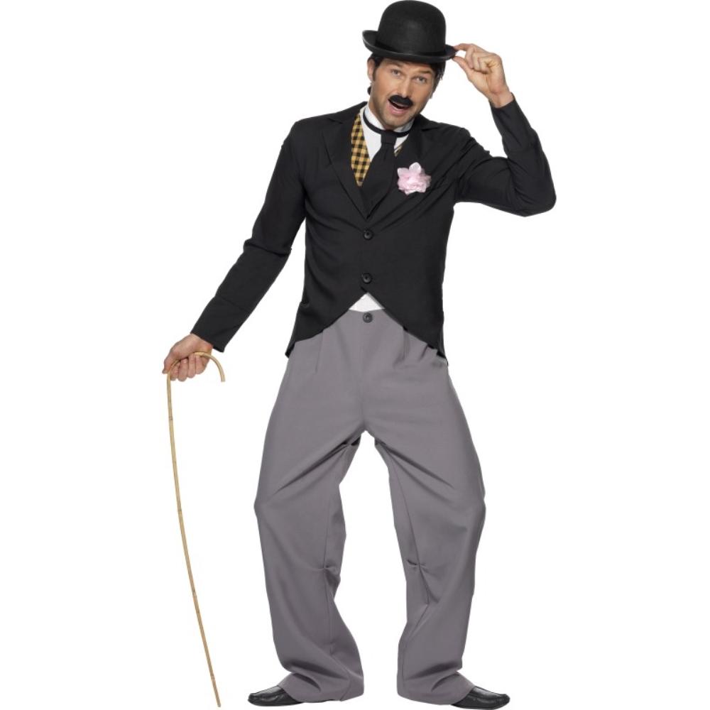 チャップリン風 衣装、コスチューム 1920年代 大人男性用 1920's Star