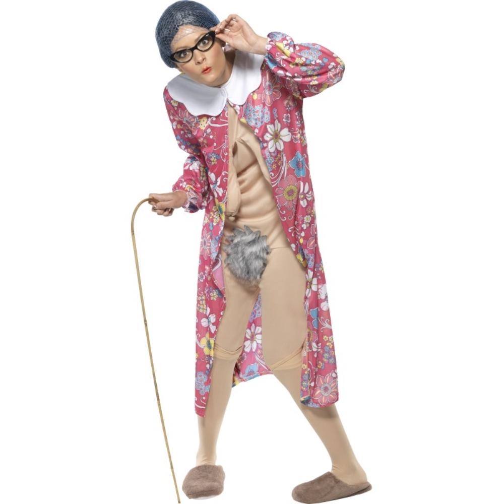 グラニー 衣装、コスチューム 大人女性用 Gravity Granny