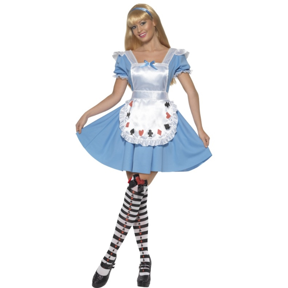 トランプ 衣装、コスチューム 童話 大人女性用 Deck of Cards Girl