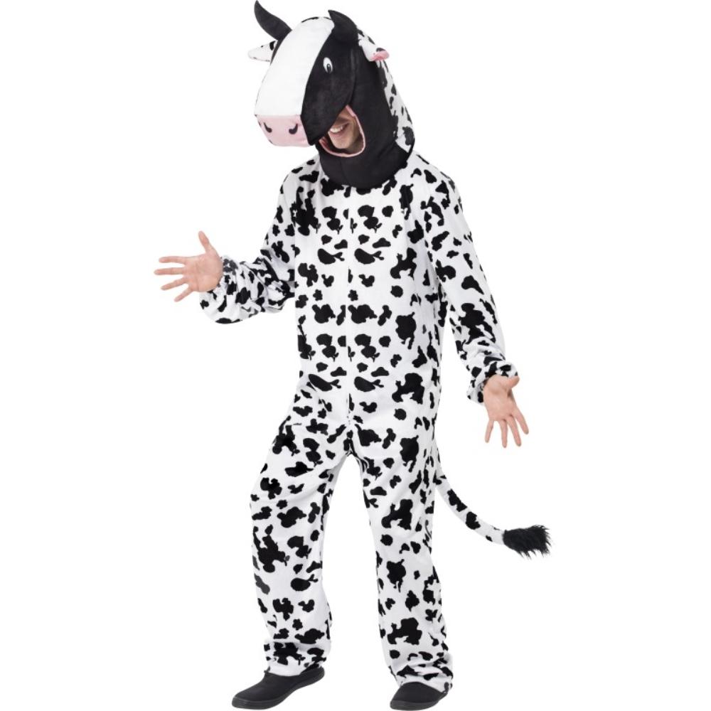 牛 ボディースーツ 衣装、コスチューム 大人男性用 Cow