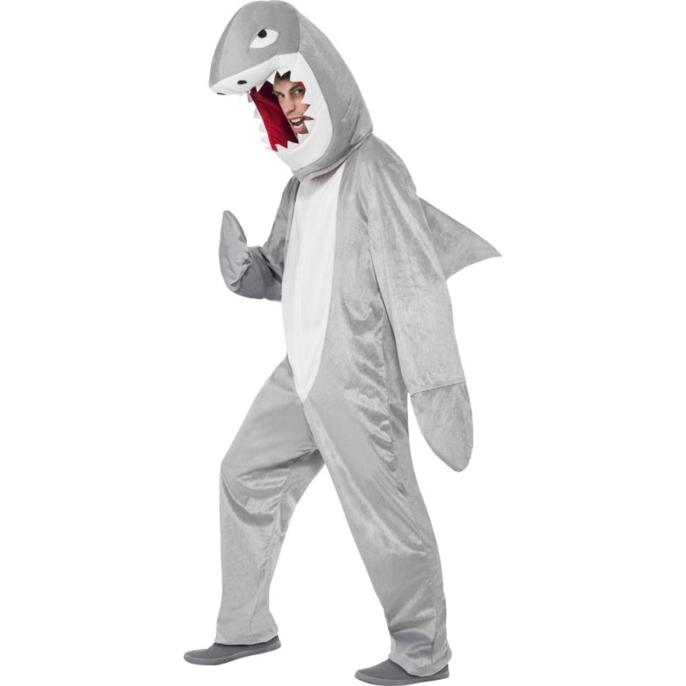 サメ ボディースーツ 衣装、コスチューム 大人男性用 Shark