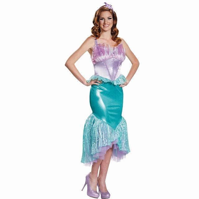 アリエル 衣装、コスチューム 大人女性用 リトルマーメイド 人魚姫