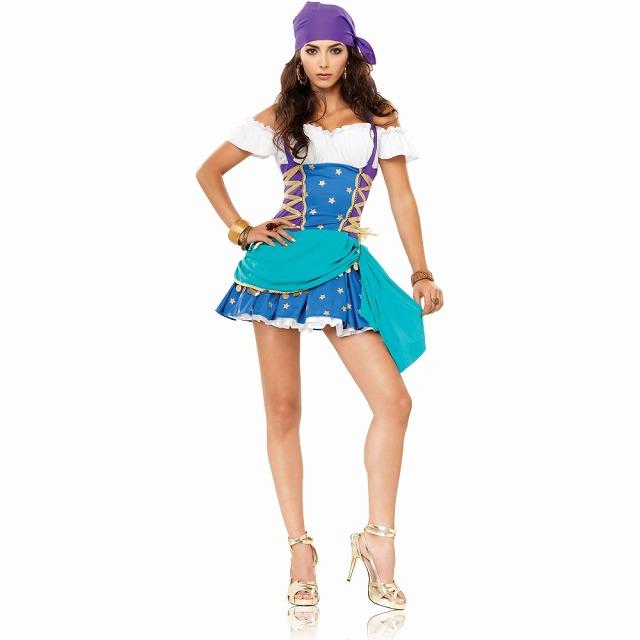 海賊 Gypsy Princess 大人女性用衣装、コスチューム コスプレ