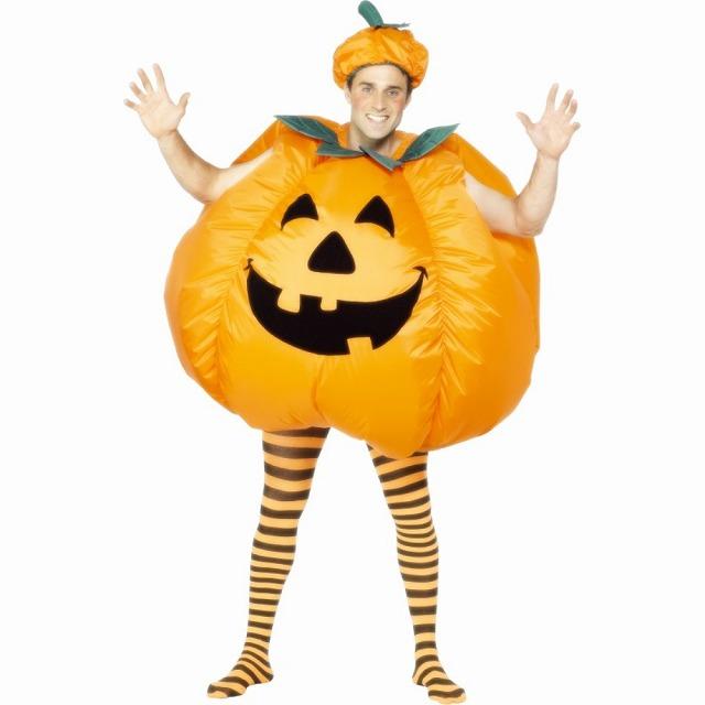 パンプキン 衣装、コスチューム 大人男性用 Inflatable
