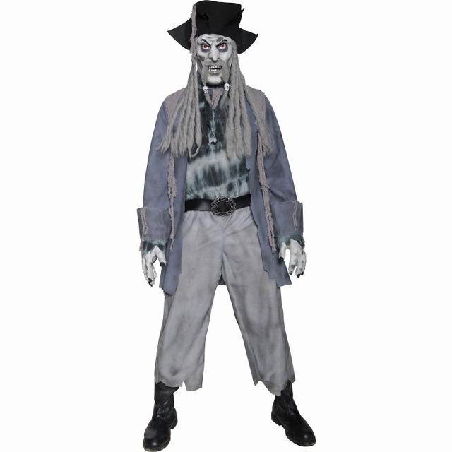 ゴーストパイレーツ 衣装、コスチューム 大人男性用 海賊 ゴースト