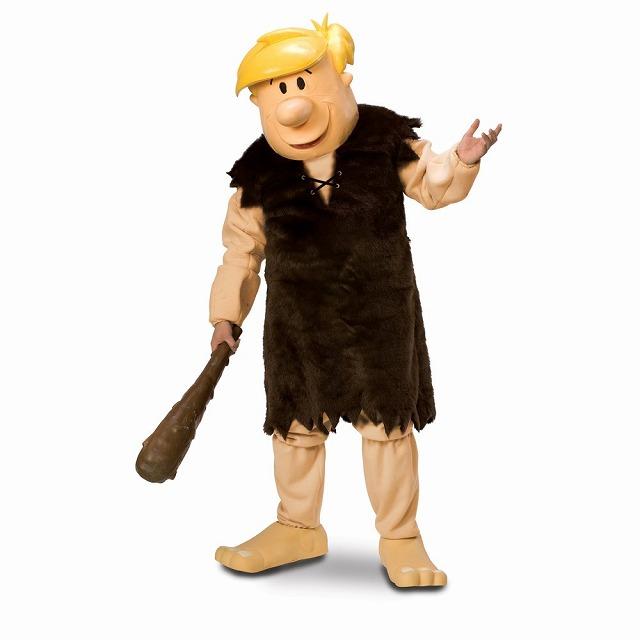 Barney Rubble マスコット 衣装 コスチューム 大人男性用 原始家族フリントストーン コスプレ