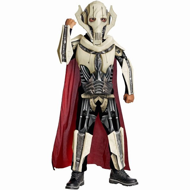 グリーヴァス将軍 スターウォーズ 衣装、コスチューム デラックス 子供男性用 General Grievous