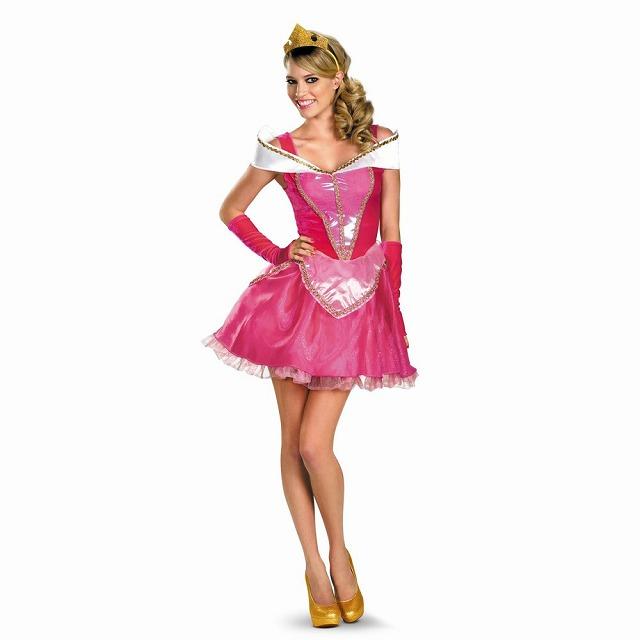 オーロラ姫 ディズニー 衣装、コスチューム デラックス 大人女性用 Aurora