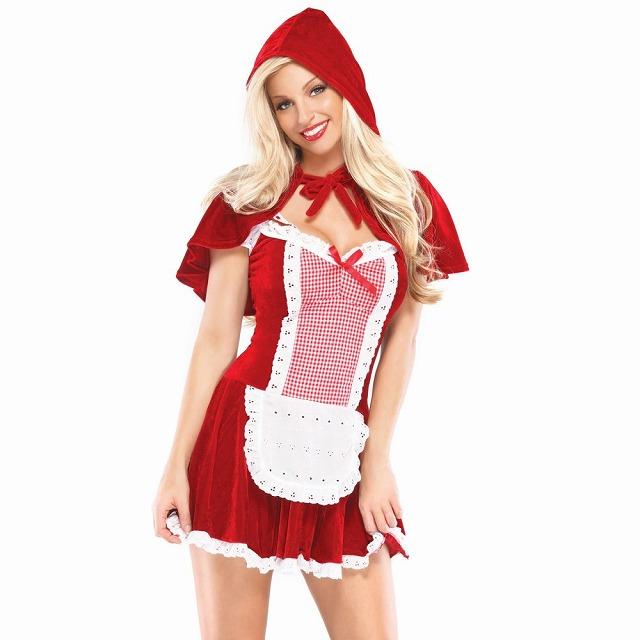 赤ずきんちゃん セクシー 衣装、コスチューム 大人女性用 Sexy Red Riding Hood コスプレ