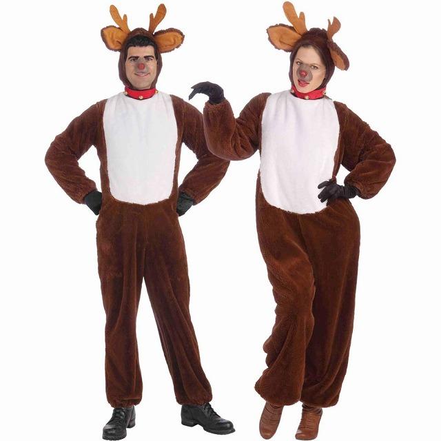 トナカイ 鹿 衣装、コスチューム 大人男性用 Reindeer