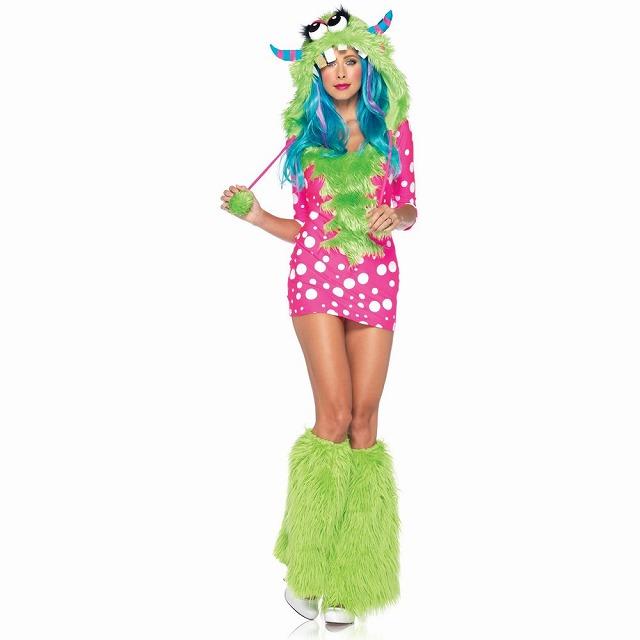 メロディ・モンスター 衣装、コスチューム 大人女性用 Monster