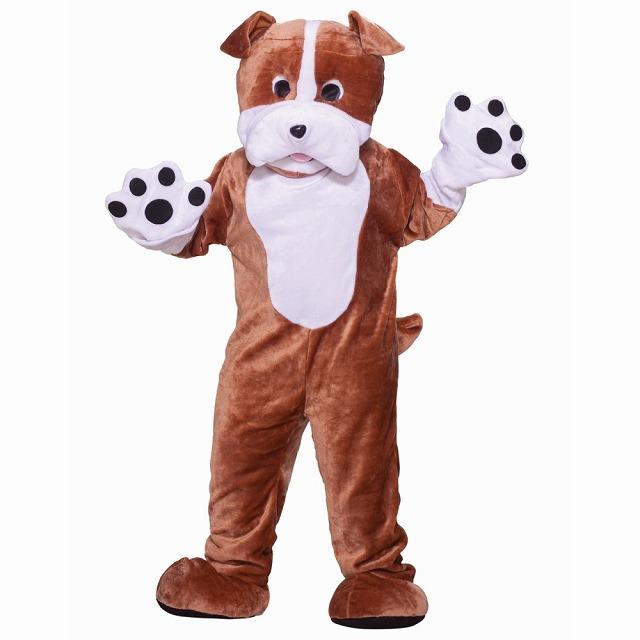 ブルドッグ 犬 衣装、コスチューム デラックス マスコット 大人男性用 大人男性用 Bull Bull マスコット Dog, プラチナSHOP:2fb90a57 --- officewill.xsrv.jp