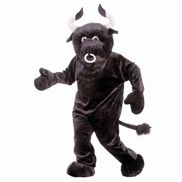 牛 ブル 衣装、コスチューム デラックス マスコット 大人男性用 Bull