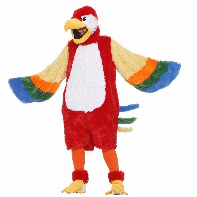 オウム 衣装、コスチューム 大人男性用 Macaw Parrot