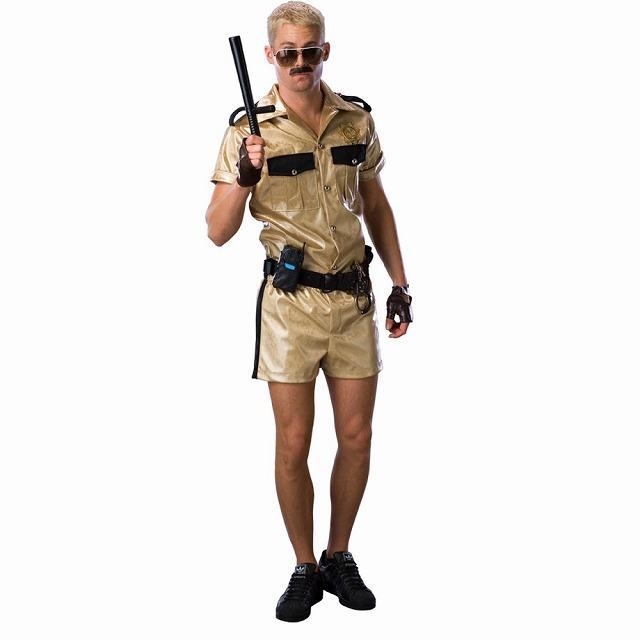 Lt. ダングル 衣装、コスチューム デラックス 大人男性用 リノ911