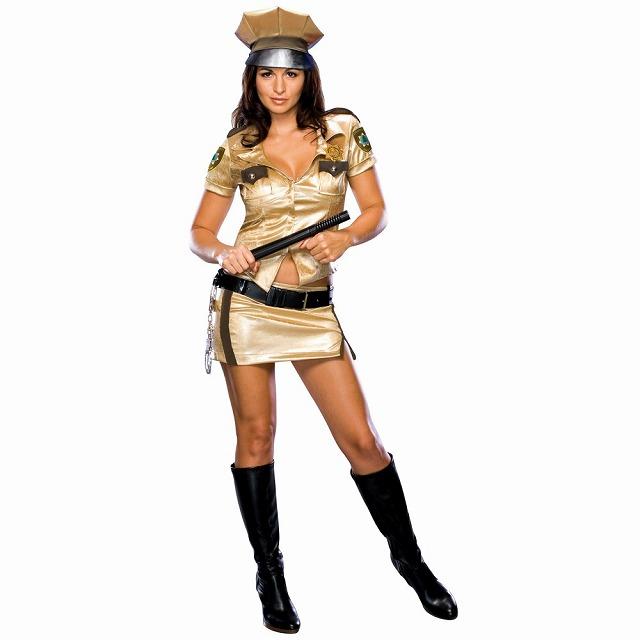 デプティ・ジョンソン 衣装、コスチューム 大人女性用 リノ911 コスプレ