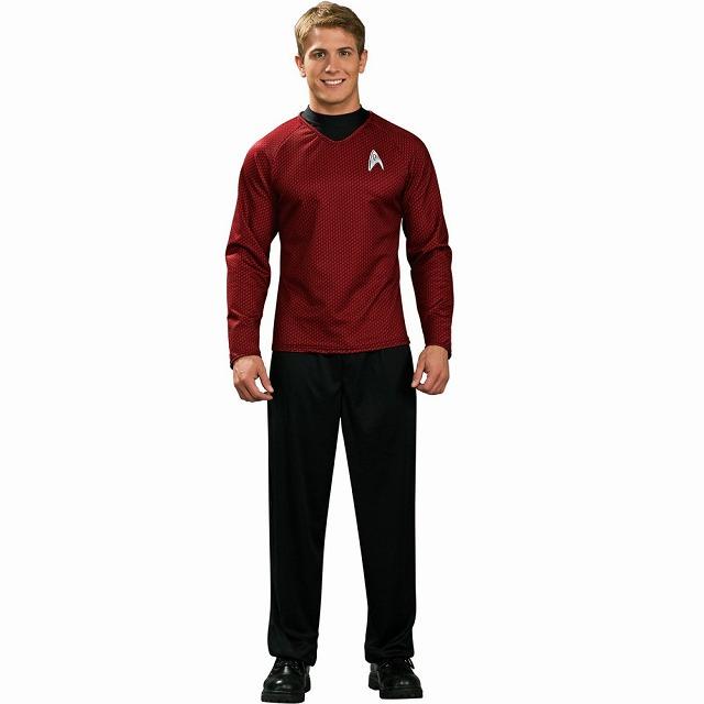 スター・トレック・レッド・シャツ 衣装、コスチューム デラックス 大人男性用