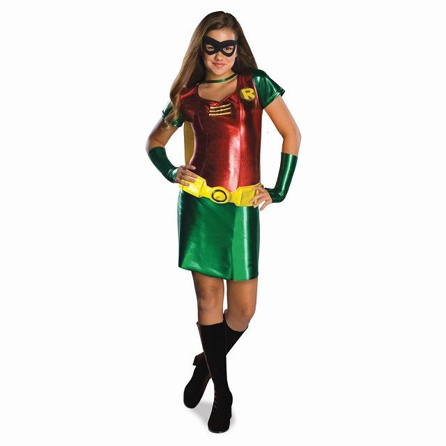 ロビン 衣装、コスチューム 子供女性用 バットマン